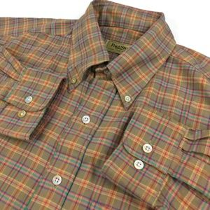 Paul Stuart Shirts - Paul Stuart Button Down Shirt Large Plaid Check L